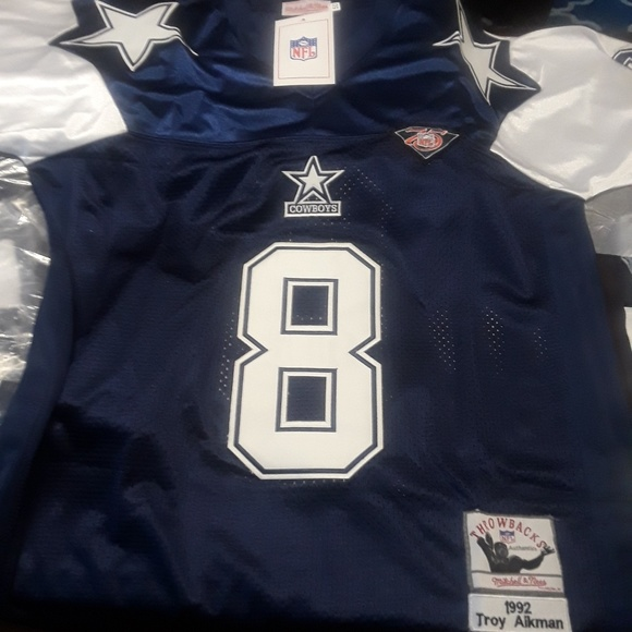 super popular 4dbf7 75e93 Throwback Thanksgiving Troy Aikman Jersey NWT